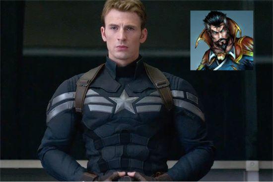 Doctor Strante Easter Egg Captain America The Winter Soldier