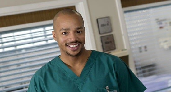 SCRUBS -- Pictured: Donald Faison as Chris Turk -- NBC Photo: Mitchell Haaseth