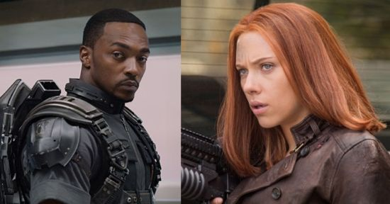Captain America The Winter Soldier: Are Falcon & Black Widow ...