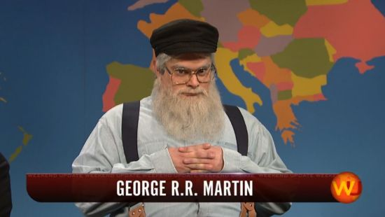 Game of Thrones George RR Martin SNL
