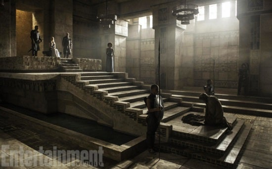 Game Of Thrones Dany S Pyramid Throne Room Revealed