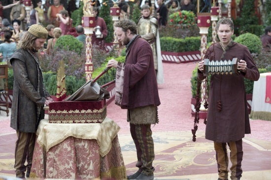 Sigur Ros as the minstrels at the Purple Wedding