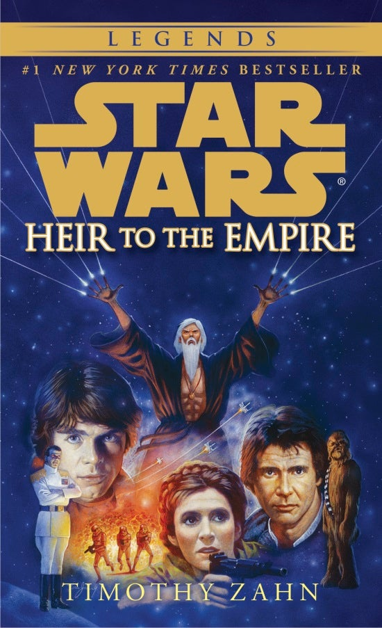 "Star Wars Expanded Universe - Heir To Empire ""Legends"" Cover"