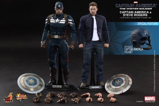 hot toys captain america and steve rogers (6)