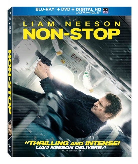 Non-Stop Comes To Blu-ray And DVD On June 10
