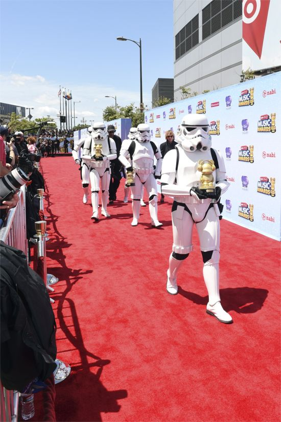 Radio Disney Awards Stormtroopers