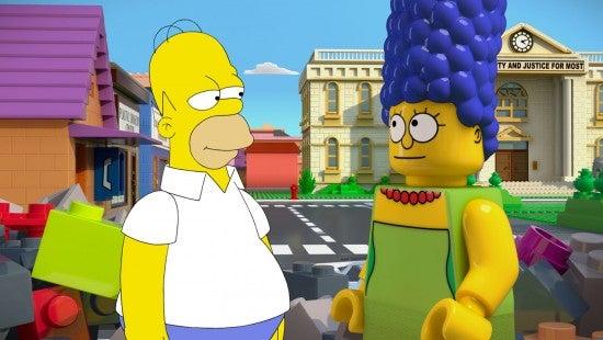 The Simpsons - Brick Like Me