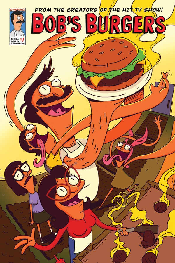 Bob's Burgers Comics Coming to Dynamite in August