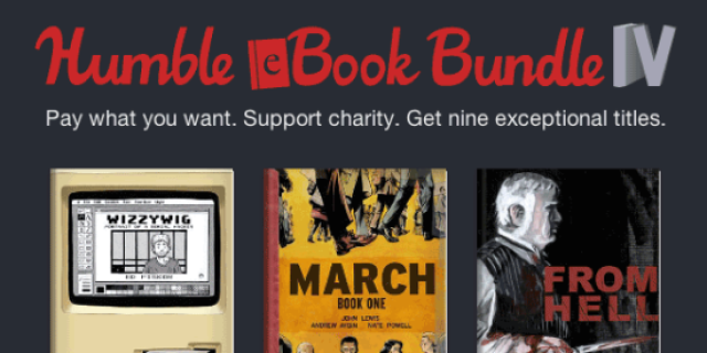 Humbl eBook Bundle IV