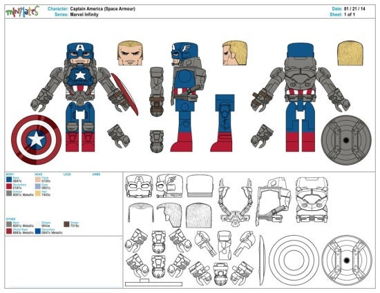 Captain America (Space Armor)