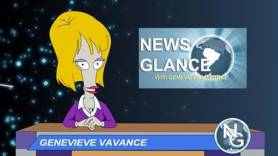 american dad News Glance with Genevieve Vavance