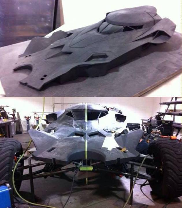 another look at batmobile in batman v superman dawn of