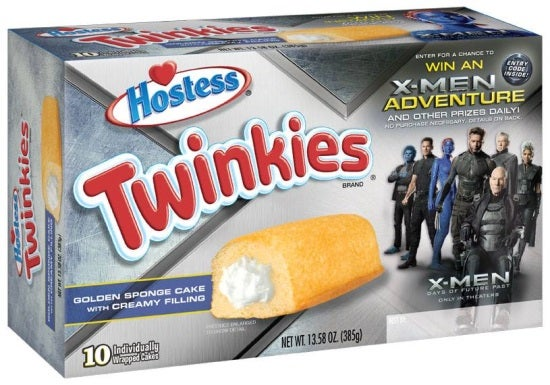 X-Men Days Of Future Past: Hostess Announces New Twinkies Flavors And Sweepstakes