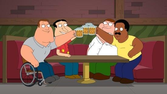 Family Guy - He's Bla-ack!