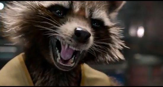 Guardians of the Galaxy Trailer Rocket Raccoon