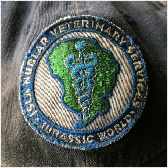 jurassic world veterinary services patch
