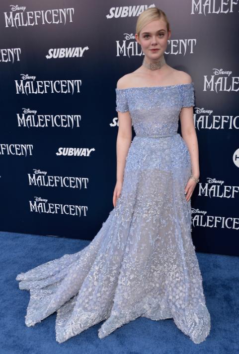 Maleficent premiere - Elle Fanning