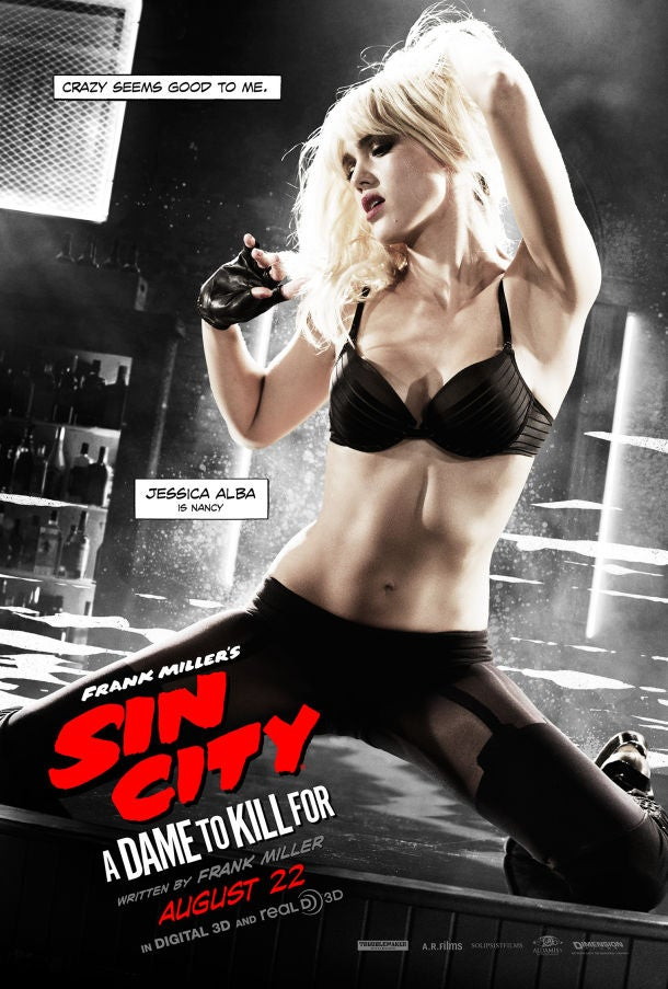 Sin City: A Dame to Kill For Character Posters Released