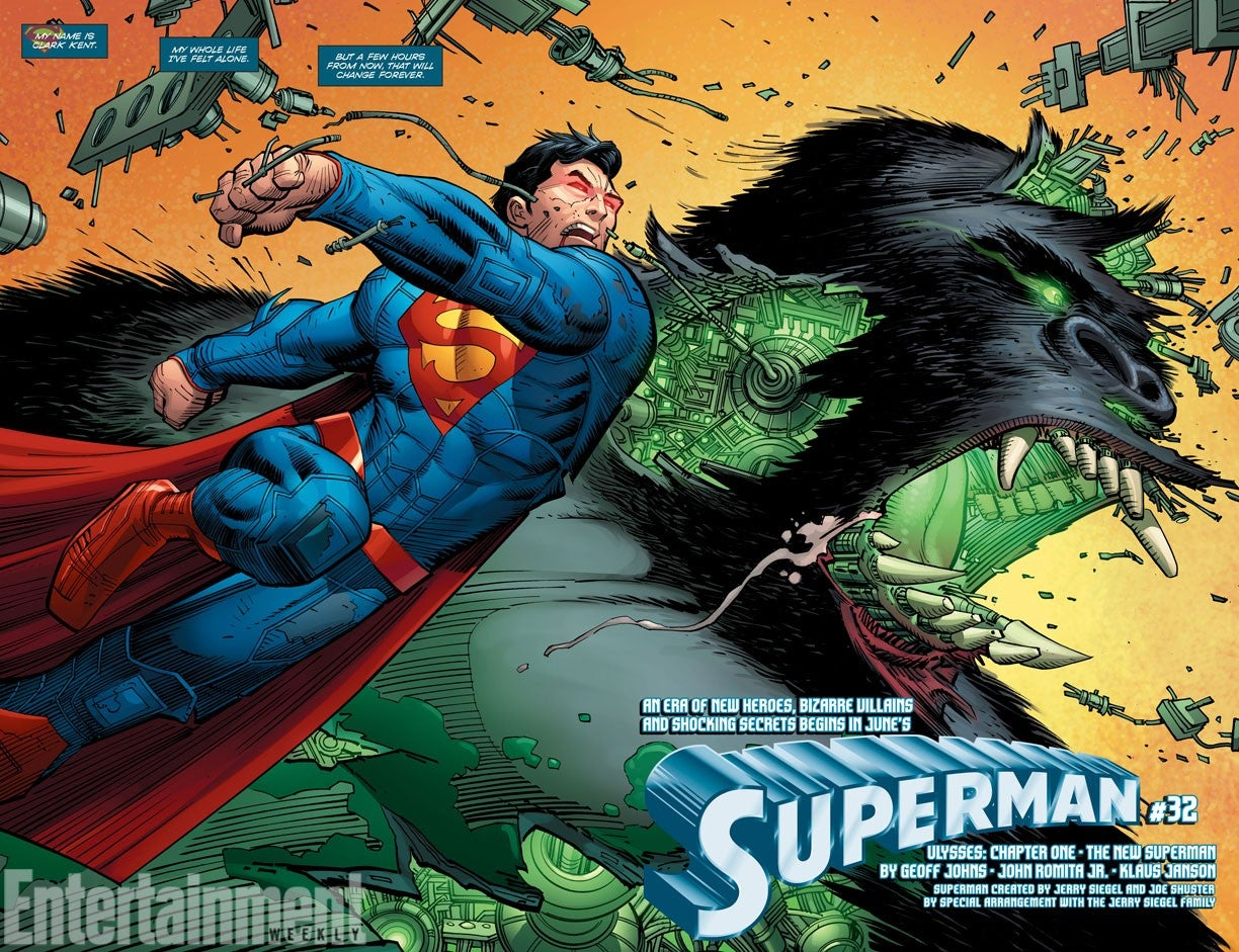 John Romita, Jr  Teases His Superman With The New York Times