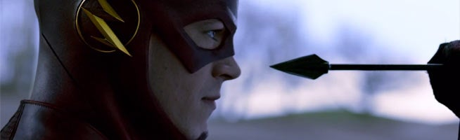 The Flash: Grant Gustin Confirms Arrow Crossover & DC Comics Easter Eggs