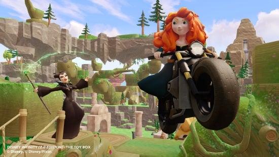 Disney Infinity 2.0 - Merida and Melficent