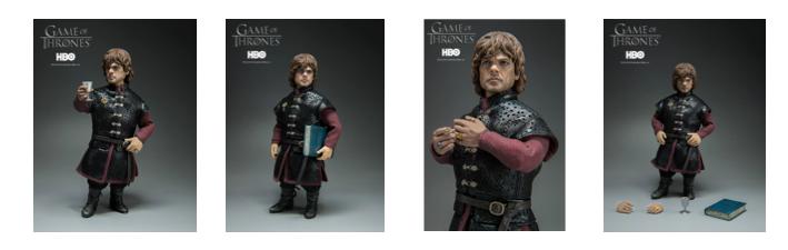 Threezero's Tyrion Lannister figure