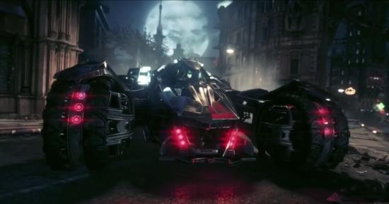 batman arkham knight batmobile battle mode
