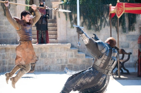 Game Of Thrones: The Red Viper And The Mountain Are Buds